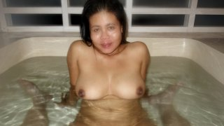 Asian Bath Sex With Horny MILF Sperm-Drinker - Asian Sex Diary