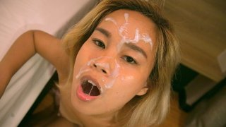 Huge Cum Facial For Naughty Returnee - TukTuk Patrol